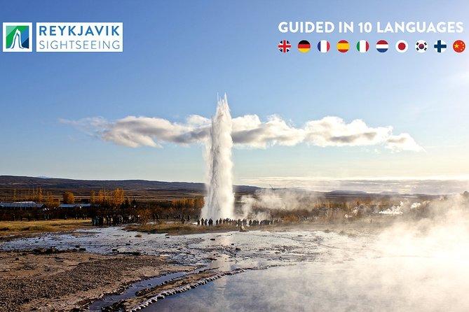 Express-rundtur till Gyllene cirkeln från Reykjavik