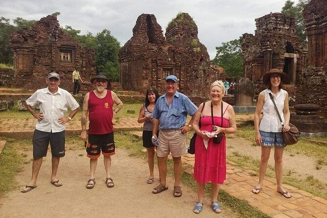 My Son Holyland Tour:Going by Vehicle &Back by Boat with Hoi An City WalkingTour