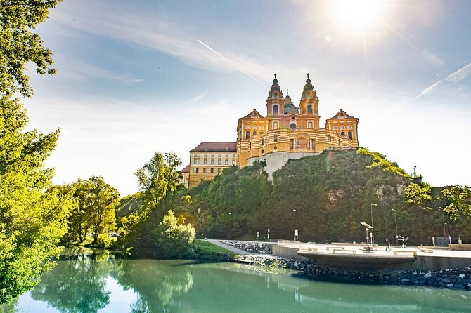 One way transfer from Vienna to Salzburg with optional stop at the Melk abbey