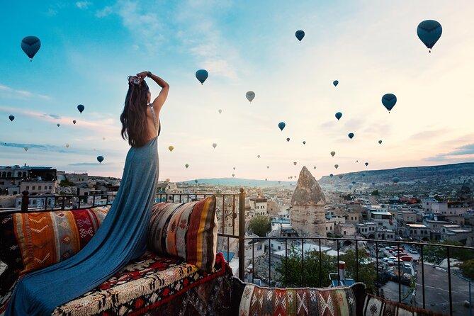 1 Night Cappadocia Trip with Hot Air Balloon Tour