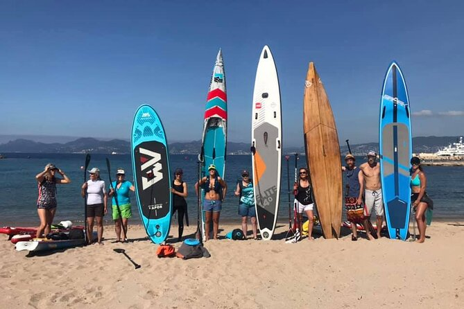 Stand-Up Paddle on Sea in Nice with Guide