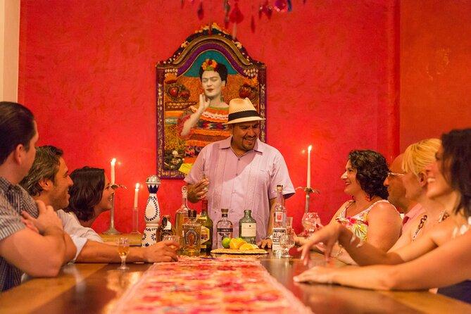 the Mezcalero mezcal tasting