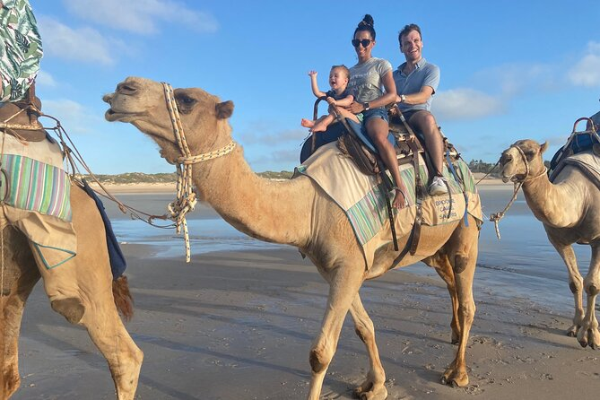 Broome Pre-sunset Camel Tour 30 minutes