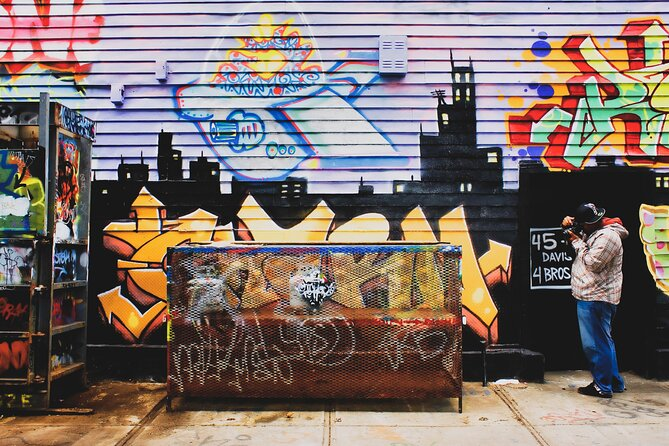 Street Art Tour in New York City with Local Expert Guide