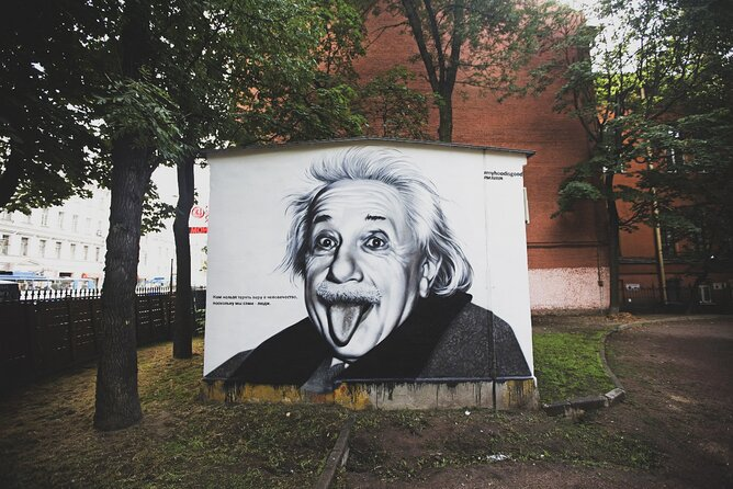 Private Street Art and Graffiti Tour in St Petersburg with Local Expert