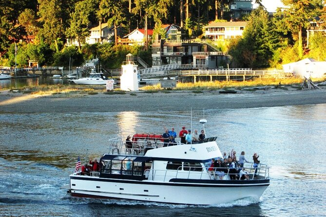 Shared Fall Colors Sunset Cruise from Gig Harbor