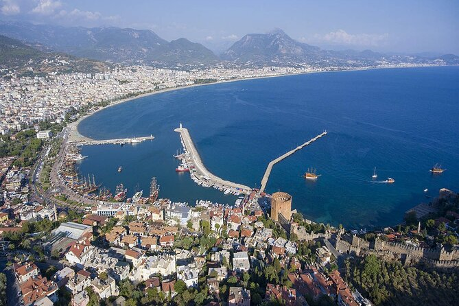 Shared Alanya City Tour from Side