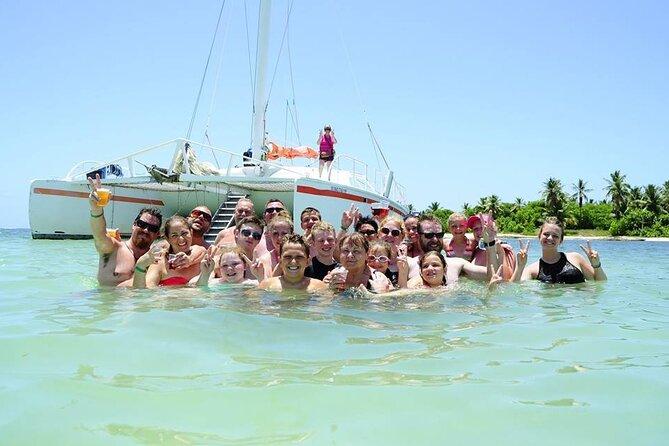 Catamaran, Boat Party, Booze Cruise, Snorkel, Sand Bar (open bar), Bavaro Bay.
