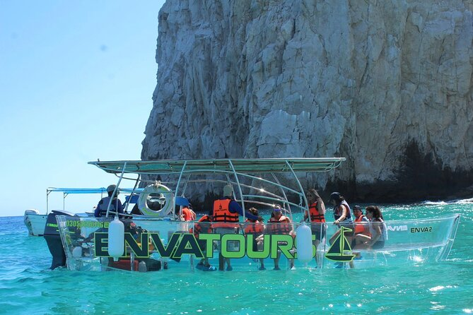 Cabo San Lucas only Clear Boat Tour to Lands End