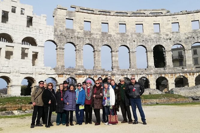 Private Walking Tour in Pula Amphitheatre