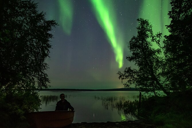 Searching Auroras with Quad Bikes