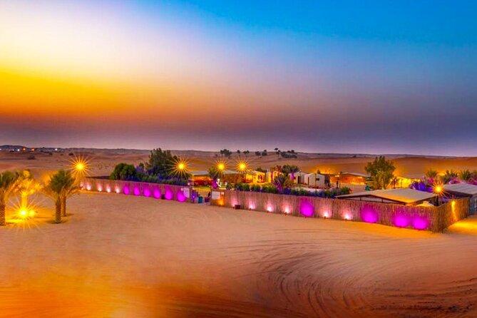 Overnight Safari In Dubai
