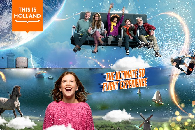 Ticket to The Ultimate 5D Flight Experience at THIS IS HOLLAND