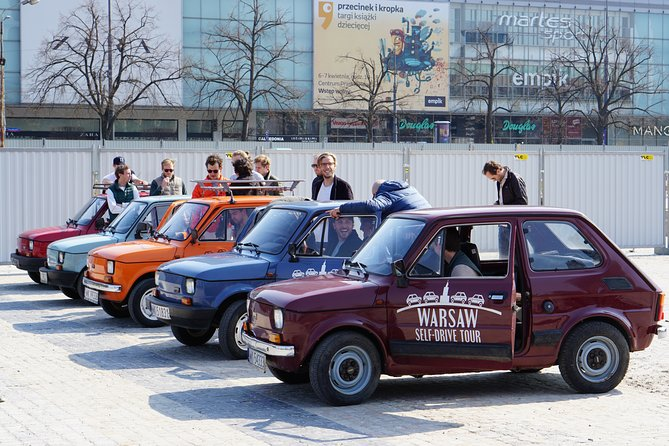"Self-Drive Tour: Communist Warsaw by Retro Fiat ""Toddler"""