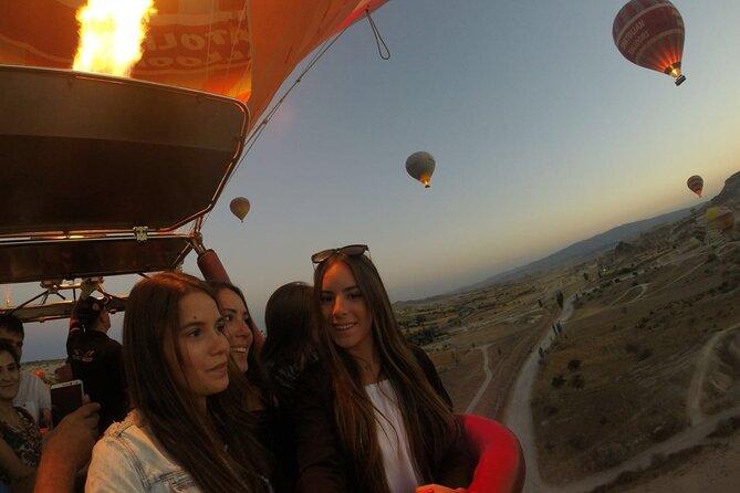Cappadocia Hot Air Balloon Ride including hotel transfers