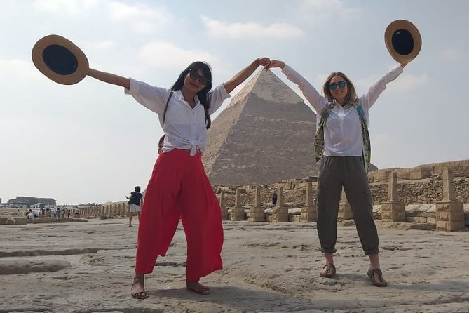 Half Day to Giza Pyramids with camel ride including lunch