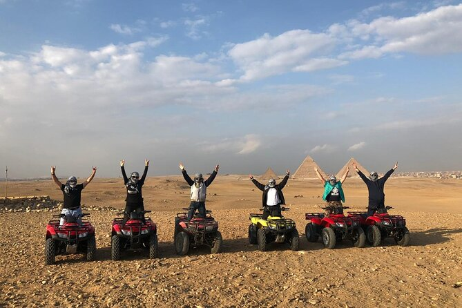 Desert Safari by Quad Bike Around the Pyramids