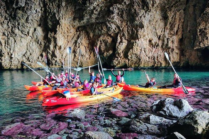 Her Majesty Cova dels Orguens - Extreme Kayak Tour Javea