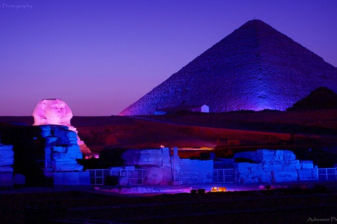 Sound and Light Show at the Pyramids