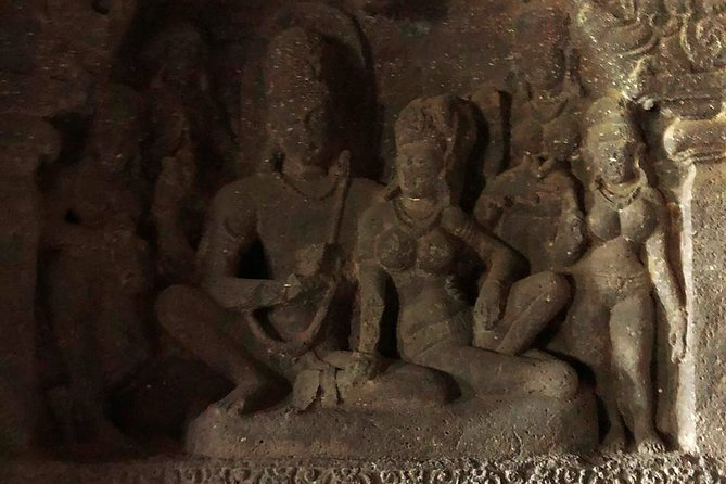 Audio Guided Tour of Ellora Hindu Caves, Aurangabad