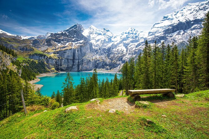Private trip from Bern to enjoy fishing tour in Oeschinen Lake