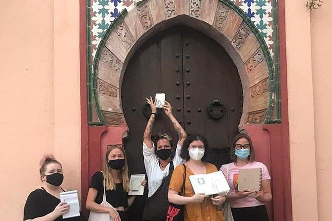 Illustration Walking Tours in Albayzin Granada