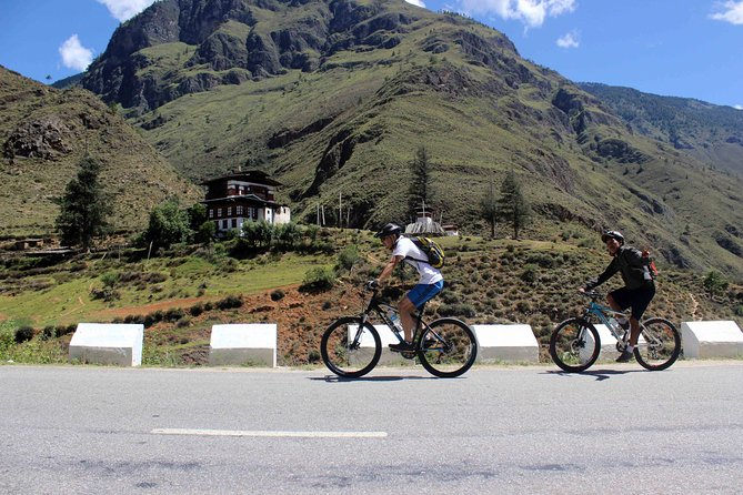 Cycling Across The Thimphu Valley