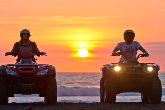 sunset desert safari trip by atv quad at marsa alam