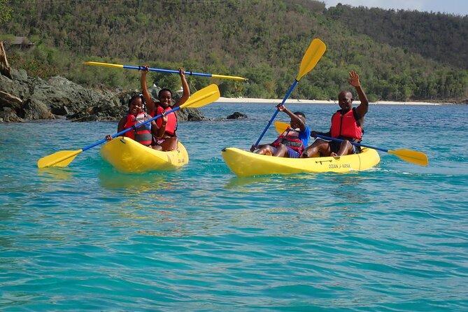 Henley Cay Adventure Tour in St John