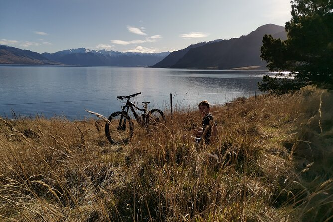 Bike Hawea to Wanaka