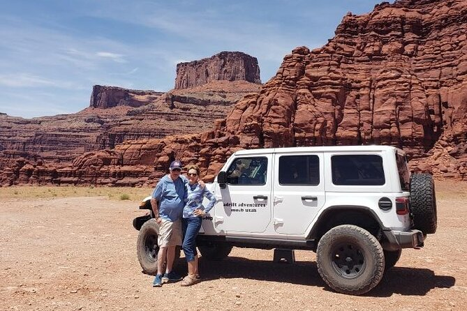 Canyonlands Backcountry 4x4 Half-Day Tour