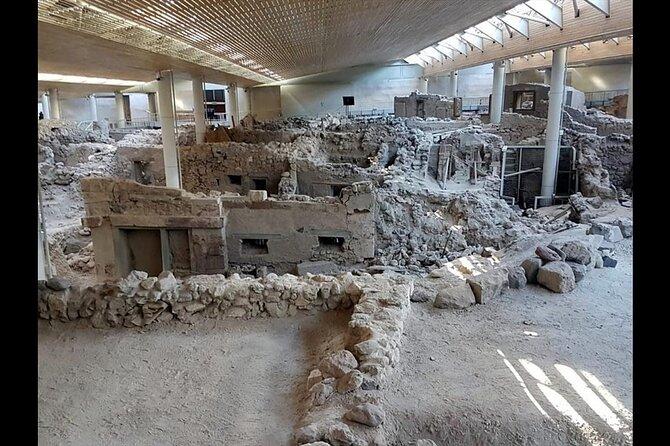 Santorini Visit Akrotiri Archaeological Site (Small Group)