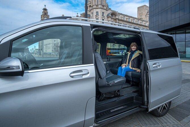 4-hour Door to Door Liverpool Tour in luxury transport (max 6 guests)