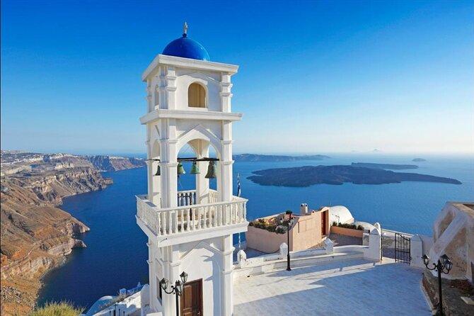 Santorini Organized Bus Tour Famous Blue Dome