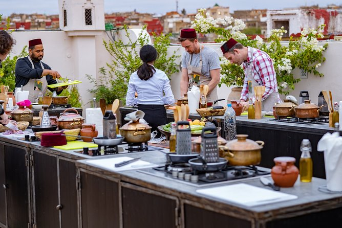 Lift the lid on Moroccan Cuisine: Intermediate Cooking course:Ten 1 hour classes