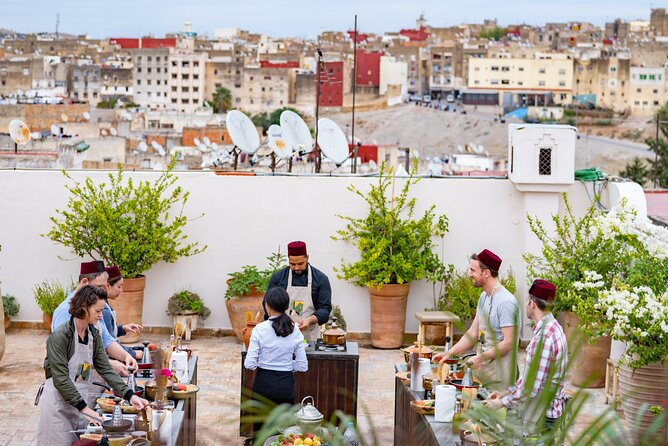 Lift the lid on Moroccan Cuisine: Five 1 hour workshops