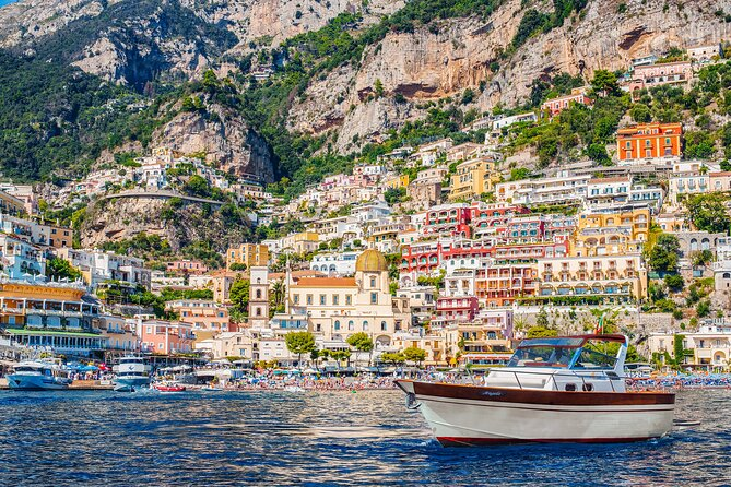 Amalfi Coast Boat Tour - Small Group from Naples
