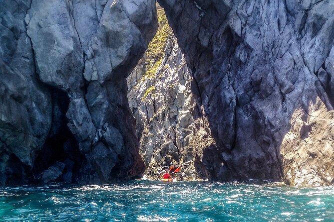 Kayaking in Caloura (Sao Miguel - Azores)