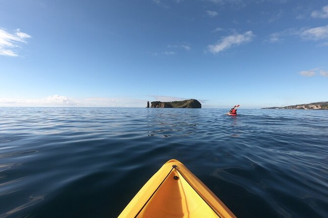 Kayaking in Vila Franca do Campo Islet (Sao Miguel - Azores)
