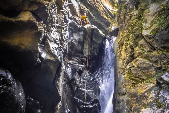Canyoning in Salto do Cabrito (Sao Miguel - Azores)