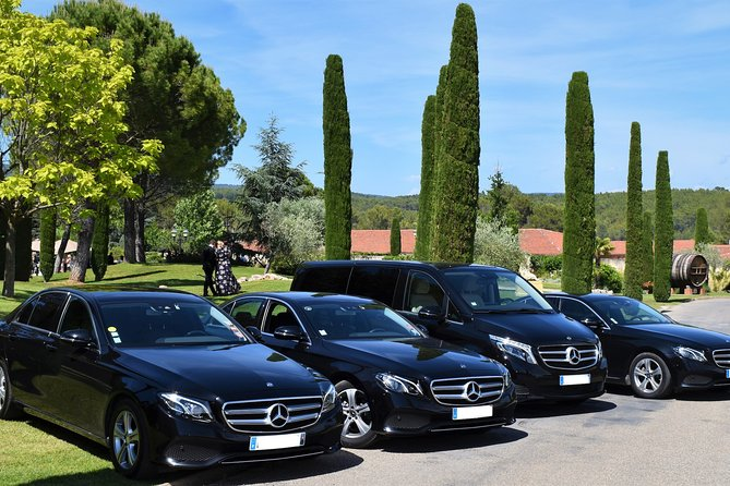 Private Transfer from Nice or Nice Airport (NCE) to Terre Blanche Resort