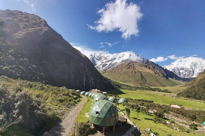 2 dagars Salkantay & Humantay Lake Glamping i Sky Lodge Domes