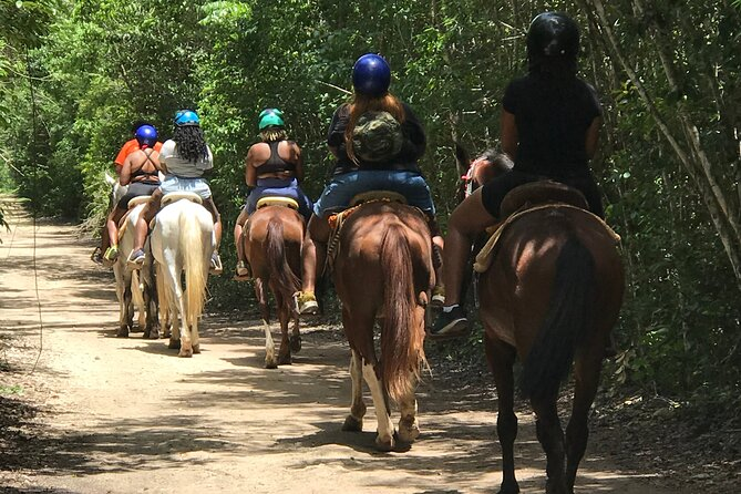 Horseback, ATV´s, Ziplines, Cenote, Hanging bridge Lunch and Round Trip Included