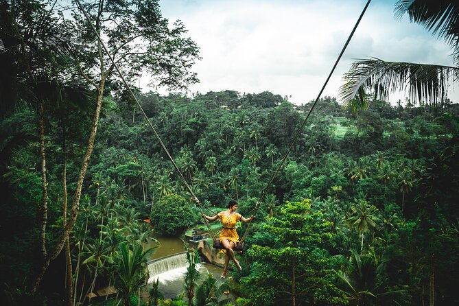 Private Full Day Tour to Ubud Highlights with Giant Swing