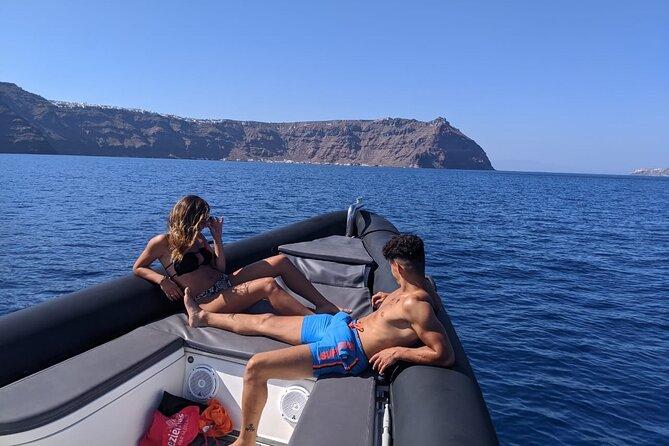 Roam the Caldera with a Private Luxury Rib Boat