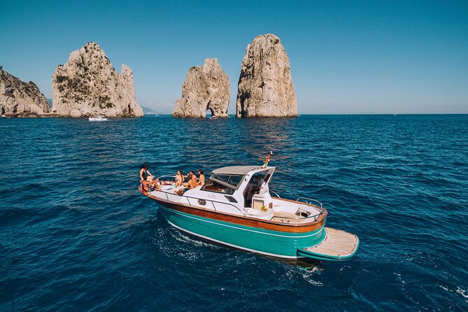 Capri Island Boat Tour from Naples