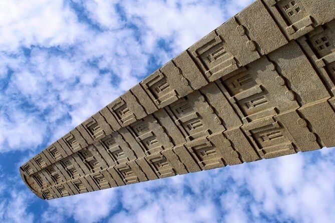 Tour Axum one of the oldest capital of Ethiopia. Chapel, church , stone, obelisk