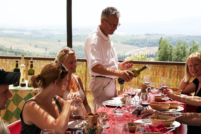 Lunch in organic Farm Private Tour: Food & Wine Experience in Tuscany