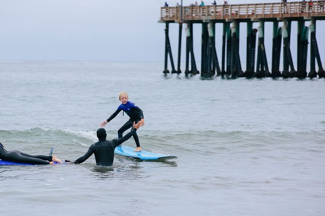 Private Surf Lesson in Morro Bay