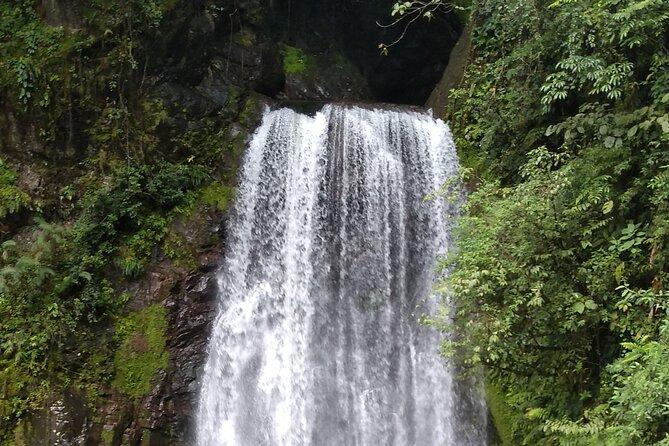 Extreme hike El Tigre Falls